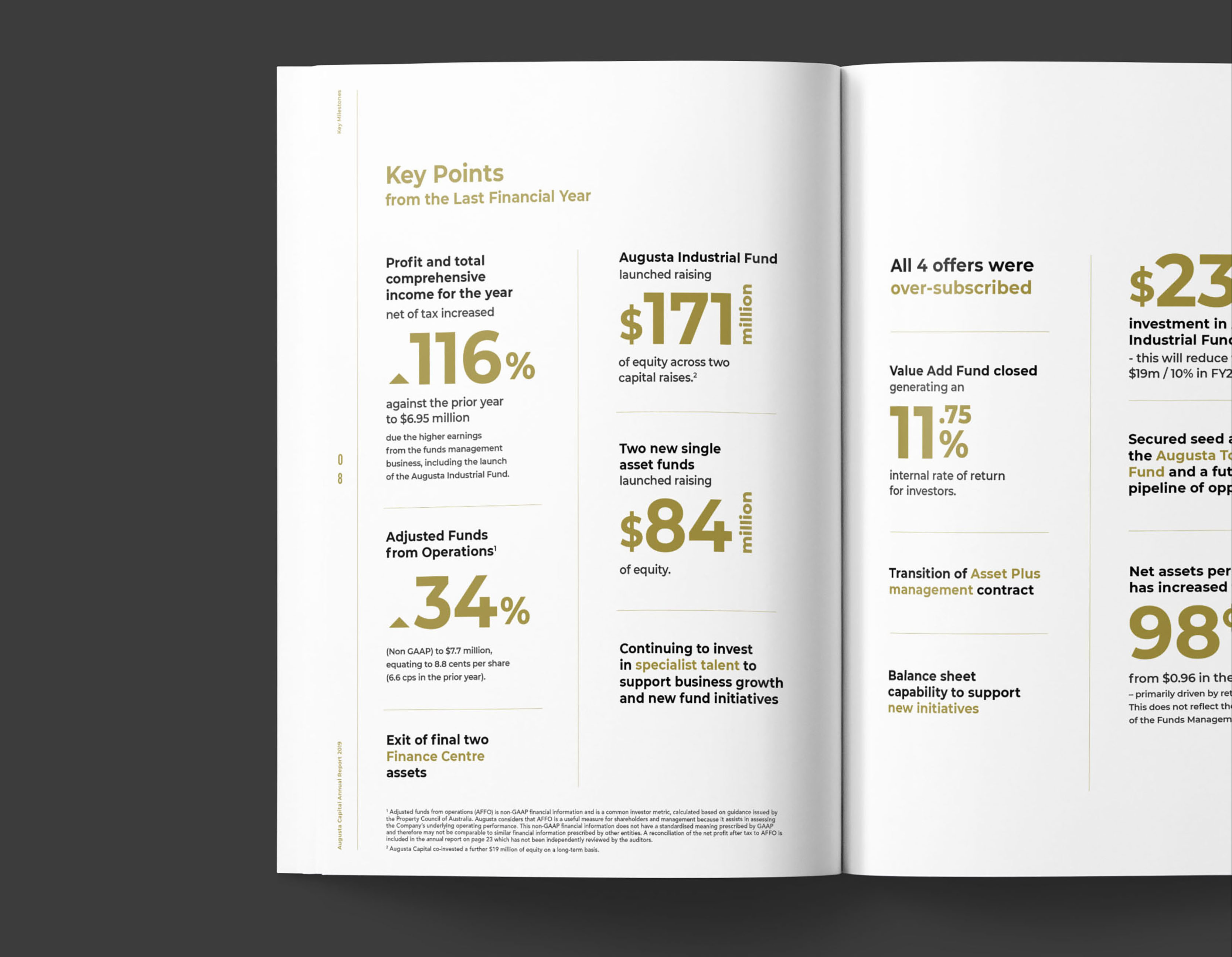 Augusta Annual Report Design