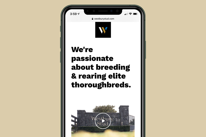 Westbury Stud Responsive Website